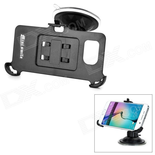 Mini Smile Mini G-Shape Neck Car Mount for Samsung S6 Edge - BlackMounts &amp; Holders<br>Form  ColorBlackMaterialABQuantity1 DX.PCM.Model.AttributeModel.UnitMount TypeCar MountCompatible ModelsSamsung Galaxy S6 EdgePacking List1 x Stand1 x Phone holder<br>
