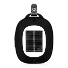 Outdoor Mini Solar Powered Bluetooth V2.1 Speaker w/ TF - Black