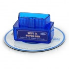 V1.5 WiFi OBD2 Car Vehicle Code Reader Scanner Diagnostic Tool - Blue