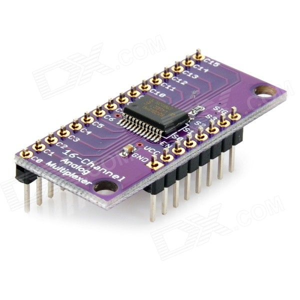 Arduino Multiplexer Shield, 48 I/O from 7 Pins