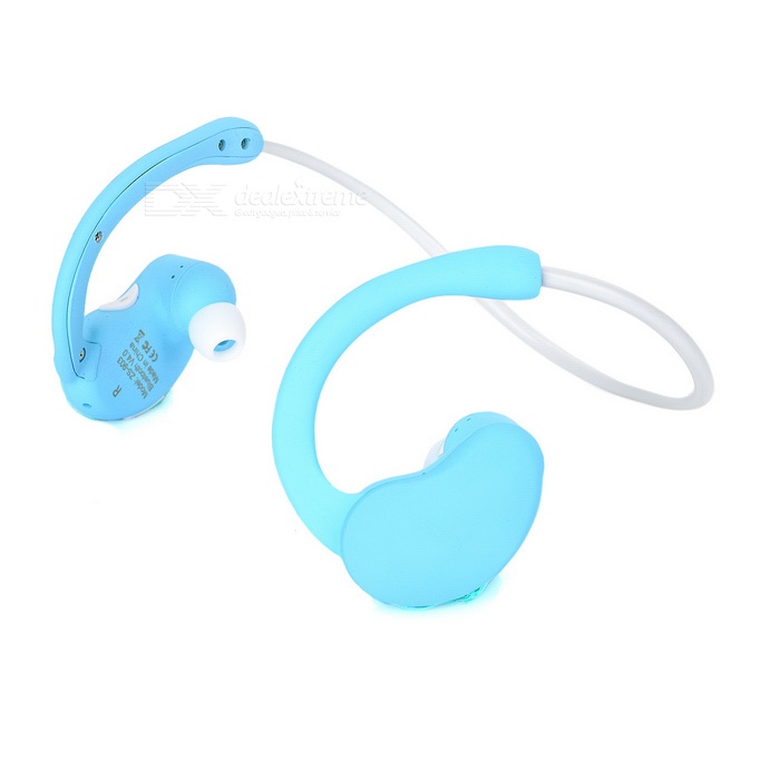 ZS-903 Mini Bluetooth V4.0 Wireless Earphone - Blue