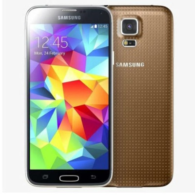 Samsung Galaxy S5 G900F 4G LTE 16GB ROM Android Smartphone-Gold