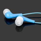 Crystal Cable In-Ear Earphone w/ 3.5mm Jack - Blue (110cm)
