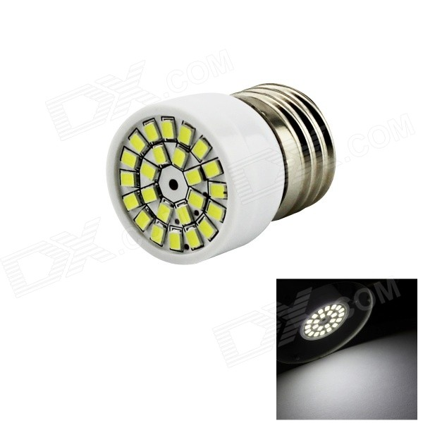 HONSCO E27 3W LED Spotlight Cold White 200lm 24-SMD 2835 (AC 220~240V)E27<br>Form  ColorWhiteColor BINCold WhiteModelE27-24G-WMaterialPVCQuantity1 DX.PCM.Model.AttributeModel.UnitPower3WRated VoltageAC 220-240 DX.PCM.Model.AttributeModel.UnitConnector TypeE27Chip Type2835Emitter TypeOthers,2835 SMDTotal Emitters24Theoretical Lumens300 DX.PCM.Model.AttributeModel.UnitActual Lumens200 DX.PCM.Model.AttributeModel.UnitColor Temperature6500KDimmableNoBeam Angle180 DX.PCM.Model.AttributeModel.UnitCertificationCE, RoHSPacking List1 x LED bulb<br>