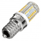 Exled el bulbo blanco caliente de E14 3.5W 180lm 58-SMD 3014 (110 ~ 220V / 2PCS)