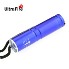 Ultrafire HP-1 XP-E R5 1-LED 400lm 3-Mode White Light Zooming Flashlight - Blue (1 x 14500 / 1x AA)