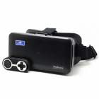 "FineSource Virtual Reality 3D Video Glasses w/ Bluetooth Controller for 5.5~6.3"" Smartphone - Black"