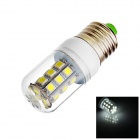 E27 3W 110lm 6500K 27-SMD 5050 LED White Light Lamp Bulb (AC 12V)