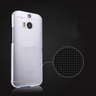 ENKAY Ultra-thin TPU Soft Back Case for HTC One M8 - Transparent