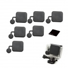 Protective Silicone Lens Cover for GoPro Hero 3+ - Black