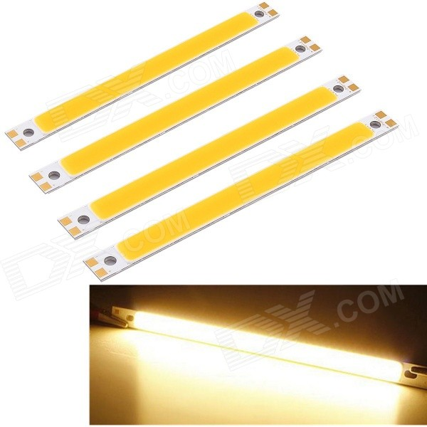 Youoklight 10W 3000K 1000lm 1-LED tira branca morna do retângulo (4PCS)