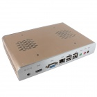 Celeron C1037U MIni PC Main Unit w/ HDMI, VGA, USB.0, LAN - Golden