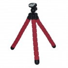 Universal Adjustable Tripod Holder for Cell Phone - Black + Deep Pink
