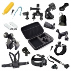 43-in-1 Accessories Bundle Kit for GoPro Hero 4 / 3+ / 3 / 2 / 1 - Black