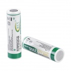 "BTY 3.7V ""2900mAh"" 18650 Rechargeable Li-ion Batteries - White + Green (Pair)"