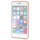 USAMS Protective Aluminum Bumper Frame for IPHONE 6 PLUS - Golden + Pink