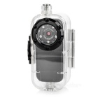 12MP 1080p FHD Multifunctional Outdoor Sports Waterproof Video Camera - Black