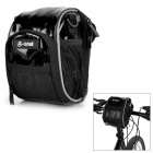 B-SOUL Water Resistant Bike Bicycle Handlebar Bag / Shoulder Bag - Black