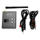R/C832 FPV AV Output 32-Ch 5.8GHz Image Transmission Receiver - Black