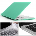 "Mr.northjoe 3-in-1 PC Matte Case + Keyboard Cover + Dust Plugs for RETINA MACBOOK PRO 13.3"" - Green"