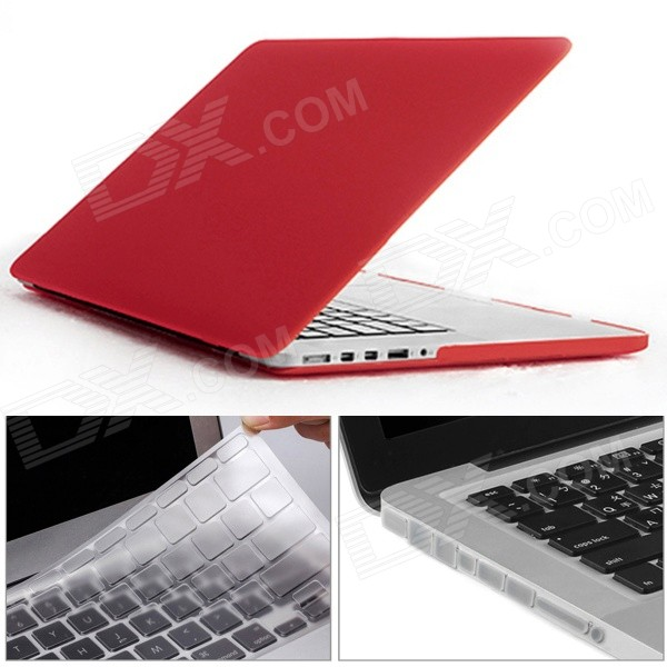 "Mr.northjoe 3-en-1 para RETINA MACBOOK PRO 13.3"" - rojo"