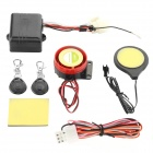 Motorcycle IC Card Induction Alarm Invisible Lock Immobilizer - Black