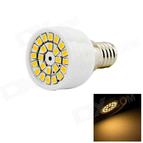 HONSCO E14 3W LED Spotlight Bulb Warm White 3000K 200lm 24-SMD - White