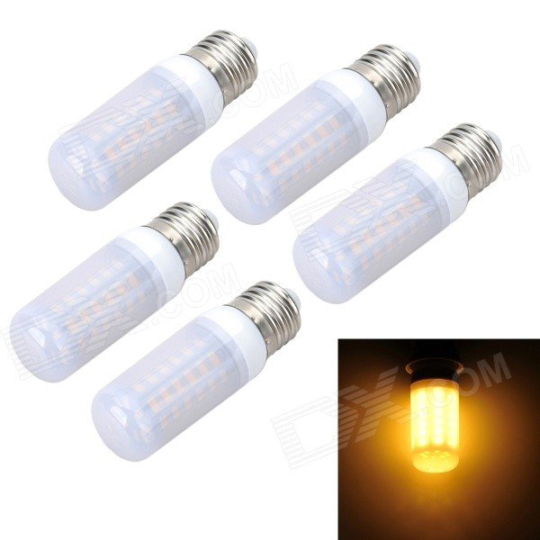 Marsing Frosted E27 10W LED Corn Bulbs Warm White 3000K 1000lm (5PCS)