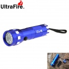 UltraFire 14-LED 120lm 1-Mode Cool White Light Flashlight Torch - Blue (3 x AAA)