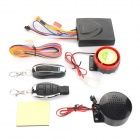 Motorcycle Motorbike Scooter Anti-theft Security Remote Voice Alarm - Black (9~15V)