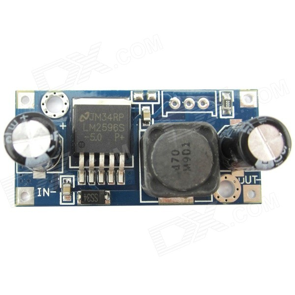 LM2596 7 ~ 30V para 5V Tensão Step-Down Converesor Buck Regulator Módulo