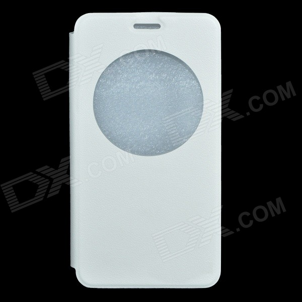 Protective PU Leather + ABS Full Body Case for DOOGEE F2 - White