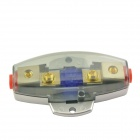 F013 Car Truck Amplifier Clear Casing 60A Fuse Holder - Multi-color