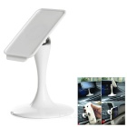 Universal Magnetic 360 Degree Rotary Car Mount Holder Set for IPAD / Samsung + More - White