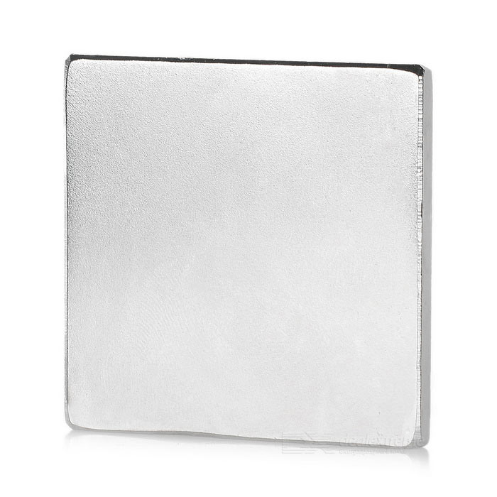 Square NdFeB Magnet - Silver (50*50*5mm)