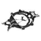 AoTu Shoes Chain Cleats Crampons - Black (Free Size / Pair)