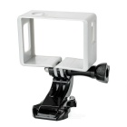 Camera Frame Holder + J-Base for SJCAM SJ4000 / SJ6000 - Silver