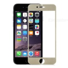Protective Tempered Glass Full Screen Protector for IPHONE 6 - Champagne Golden