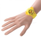 Tiger Style Kids' Silicone Band Quartz Analog Watch - Yellow (1*377)