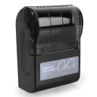 Portable Bluetooth Wireless Receipt Thermal Printer for Android and iOS - Black
