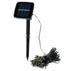 0.3W 3500K 300lm Warm White Light Solar Powered Waterproof LED Outdoor Garden Decorative Light Strip