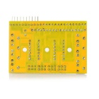 8-CH Tracing Obstacle Avoidance Sensor - Yellow
