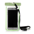 Waterproof Protective PVC Case for IPHONE 6 PLUS + More - Fluorescent Green