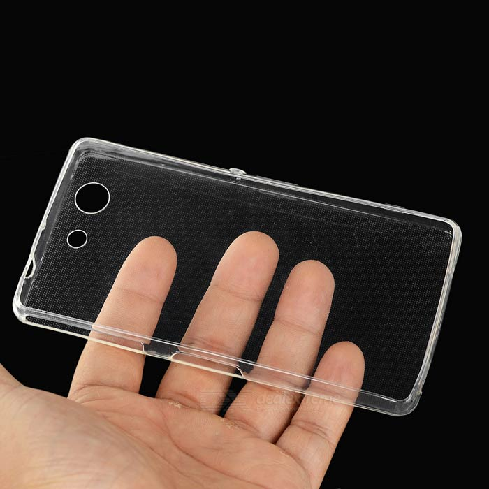 huge selection of a71f1 e14ca Mini smile 5mm Ultra-thin TPU Back Case Cover for Sony Xperia Z3 Compact /  Z3 Mini - Transparent