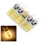 G4 2W Car LED Reading Lamps Warm White 3200K 130lm SMD 2835 - White + Beige (AC/DC 12V / 5 PCS)