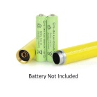 5mW Green Light Laser Pointer - Yellow + Silver (2*AAA)