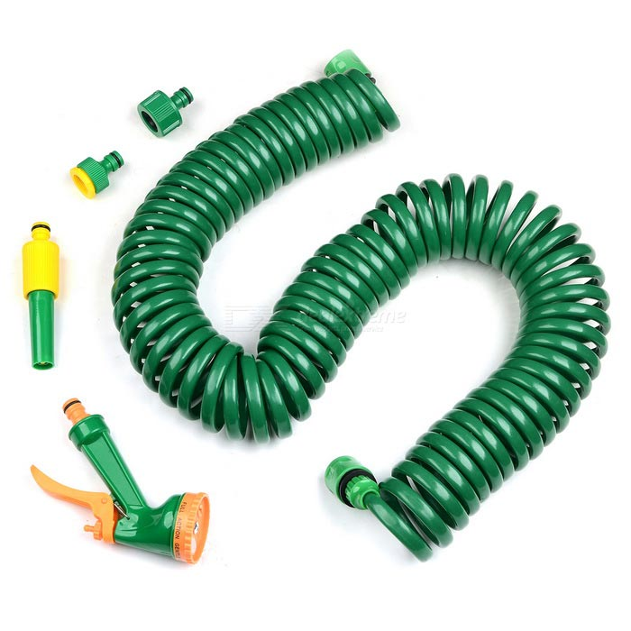 Cleaning Water Gun w/ Spring Coil Hose - Free Shipping - DealExtreme