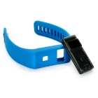 "Waterdichte 0.5"" OLED Bluetooth V4.0 Slimme armband - Blue"