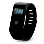 "Waterproof 0.5"" OLED Bluetooth V4.0 Smart Bracelet - Black"