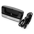 Mini Smile OTG Micro USB Charging Dock for Samsung S6/S6 Edge - Black